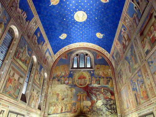 ジオットの壁画/スクロヴェーニ礼拝堂(パドヴァ)