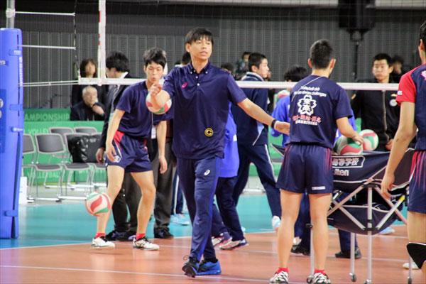 松本理生・東山高校・男子バレーボール・春高バレー