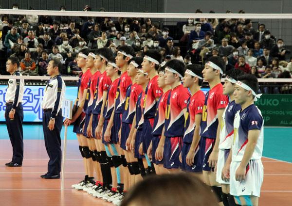 高橋藍・東山高校・男子バレーボール・春高バレー・日本代表
