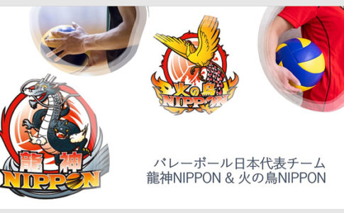 全日本代表バレーボール,龍神NIPPON,火の鳥NIPPON