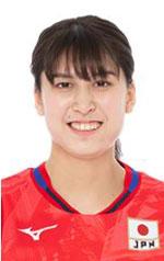 入澤まい,女子バレーボール日本代表,2020年度登録選手