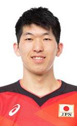 駿一郎,男子バレーボール日本代表,2020年度登録選手