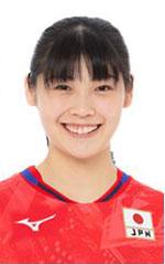 黒後愛,女子バレーボール日本代表,2020年度登録選手