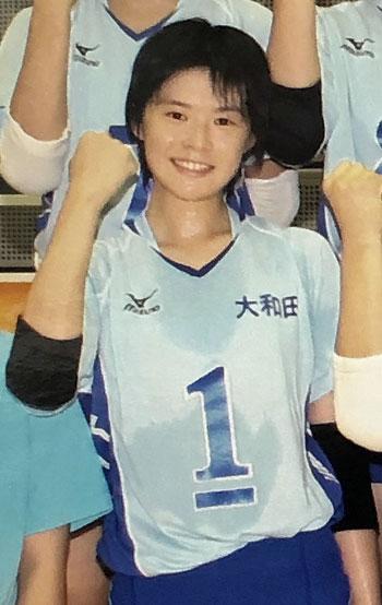 宮下遥、女子バレーボール選手、大阪国際大和田中学校時代