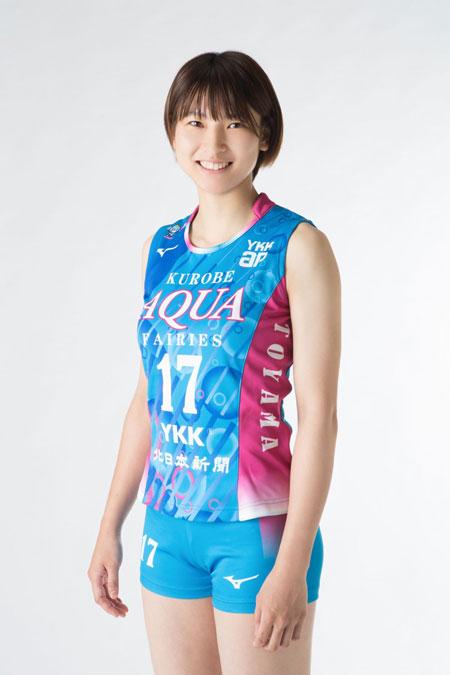 白岩蘭奈選手,女子バレーボール選手,KUROBEアクアフェアリーズ所属時代