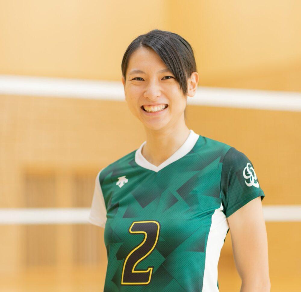 白岩蘭奈(女子バレーボール選手),新潟医療福祉大学出身