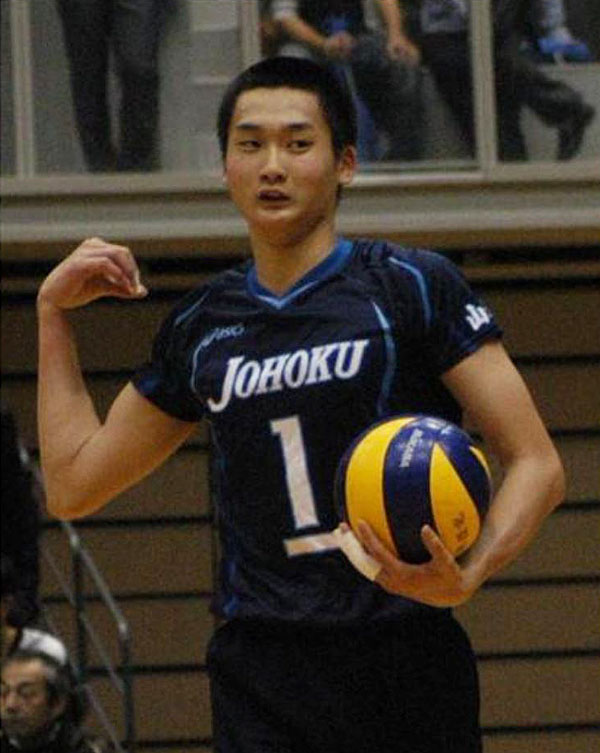 高梨健太,バレーボール選手,山形城北高校出身