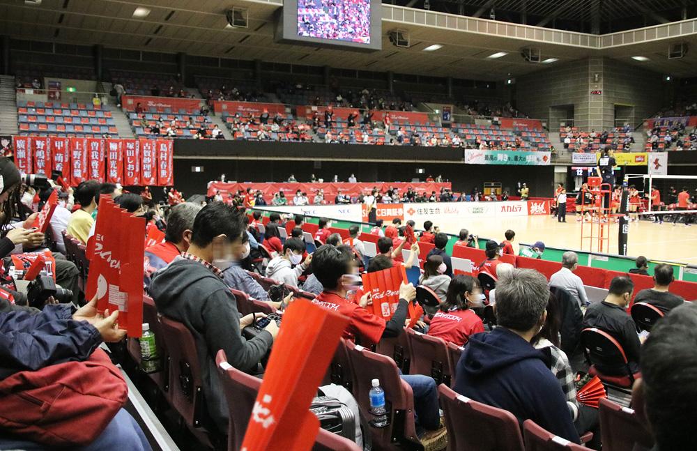 Vリーグ女子バレー,NECレッドロケッツ,とどろきアリーナ(神奈川県川崎市)