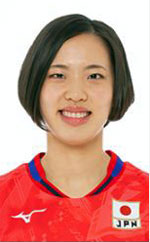 関菜々巳,女子バレーボール日本代表,2020年度登録選手
