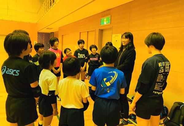 林琴奈,女子バレーボール選手