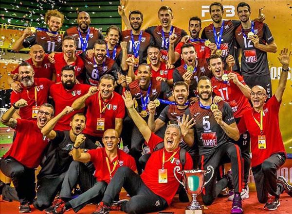 ルーベ・チヴィタノーヴァ,イタリア・セリエAバレーボールチーム