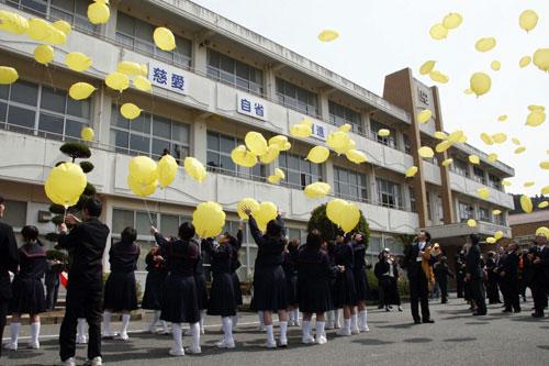 旧向津具中学校(山口県長門市)