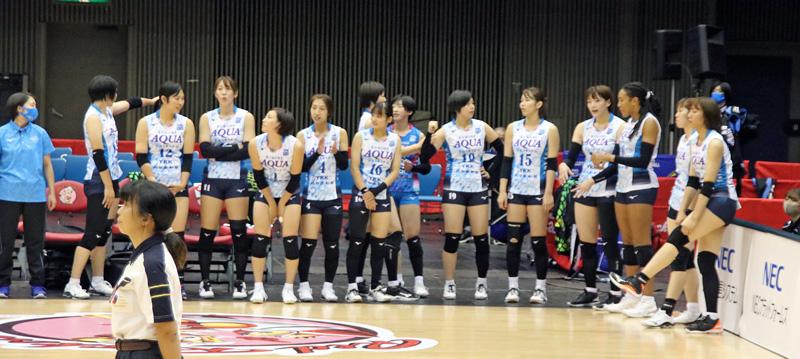 Vリーグ女子バレー,KUROBEアクアフェアリーズ,2020年10月24日,とどろきアリーナ神奈川県川崎市