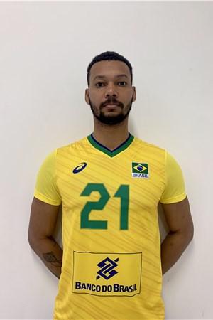 アラン・ソウザ/Alan Souza、バレーボールブラジル代表選手(東京オリンピック2020-2021出場)