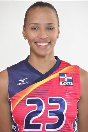 23ガイラ・ゴンサレス/Gaila González、バレーボールドミニカ共和国代表選手(東京オリンピック2020-2021出場)