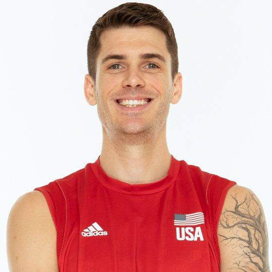 マシューアンダーソン、バレーボールアメリカUSA代表男子選手