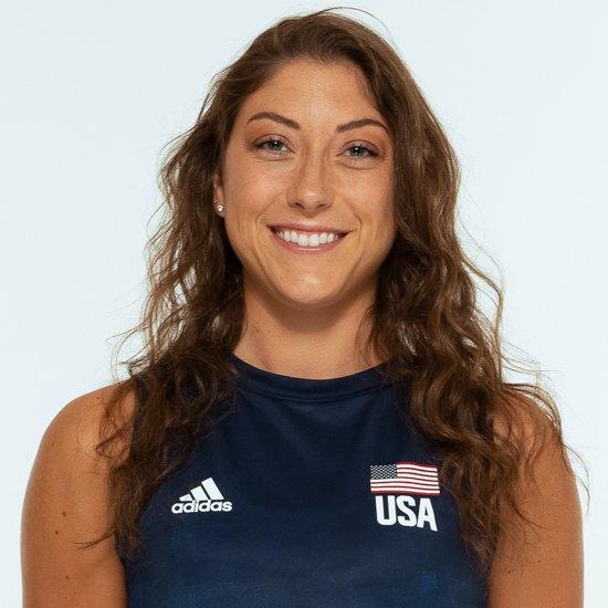 ローレン・カーリニ、バレーボールアメリカUSA代表女子選手