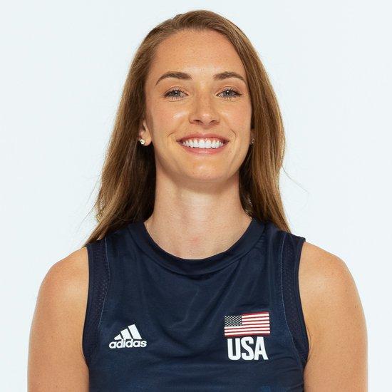 メーガン・コートニー、バレーボールアメリカUSA代表女子選手
