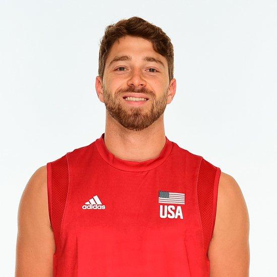 カイル・ダゴスティーノ、バレーボールアメリカUSA代表男子選手