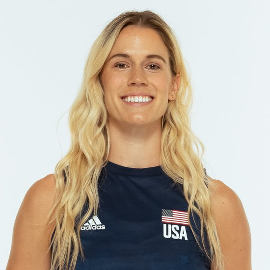 アンドレア ドルーズ、バレーボールアメリカUSA代表女子選手