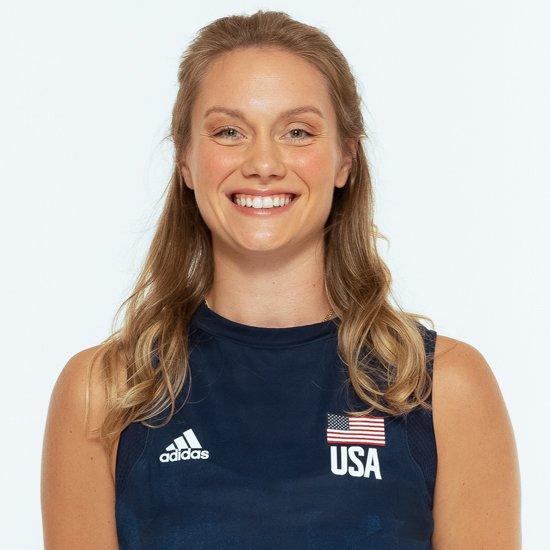 マイカ ハンコック、バレーボールアメリカUSA代表女子選手
