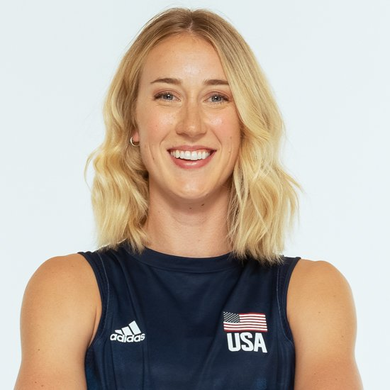 キンバリー ヒル、バレーボールアメリカUSA代表女子選手