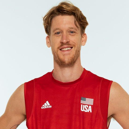 マックスウェル・ホルト、バレーボールアメリカUSA代表男子選手