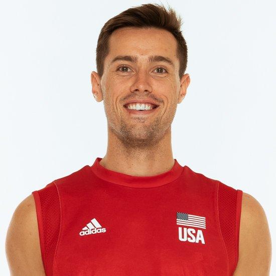 トーマス・ジェスキー、バレーボールアメリカUSA代表男子選手