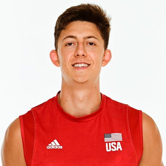 ジェフリー・ジェンドリック、バレーボールアメリカUSA代表男子選手