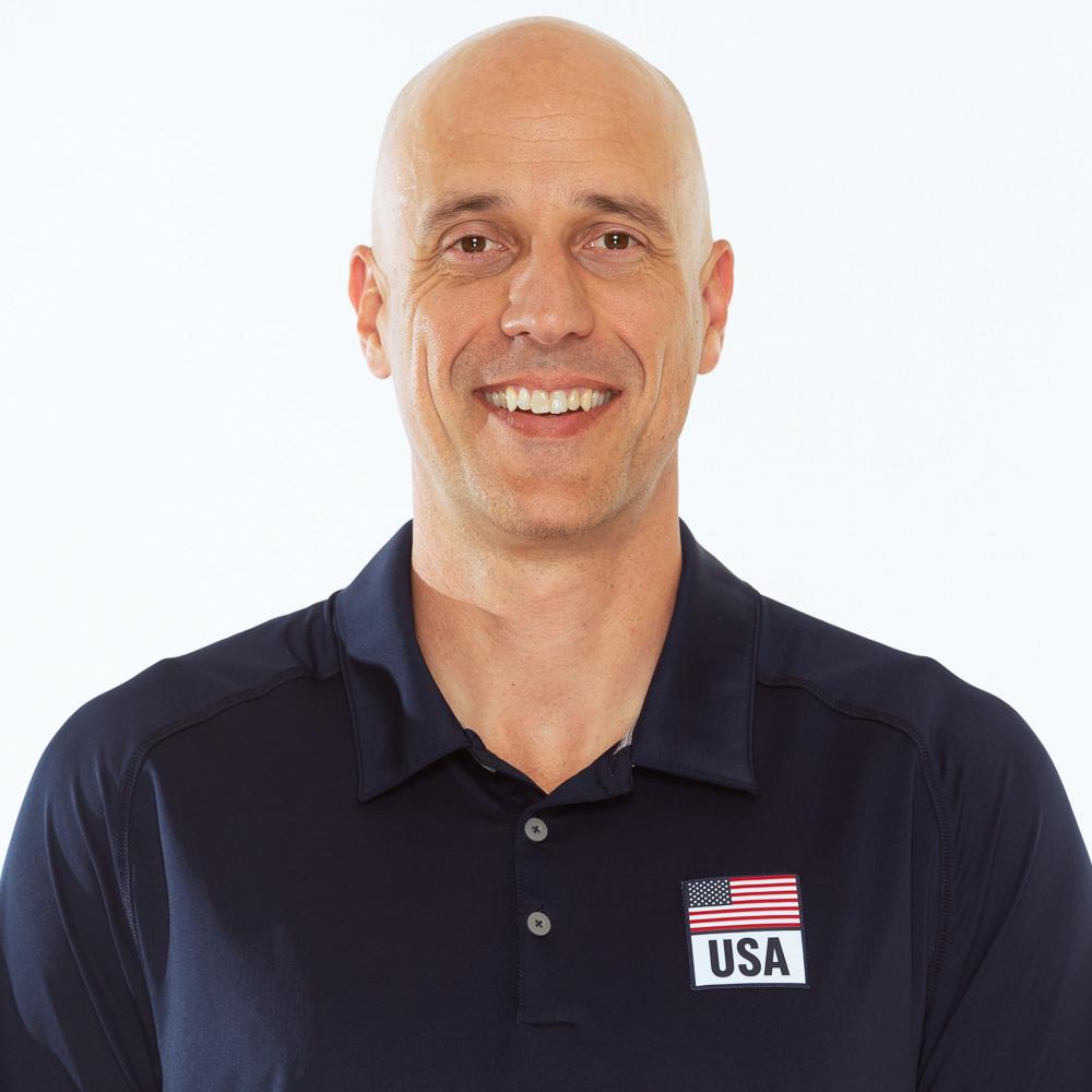 ジョン・スパロー、バレーボールアメリカUSA代表男子監督