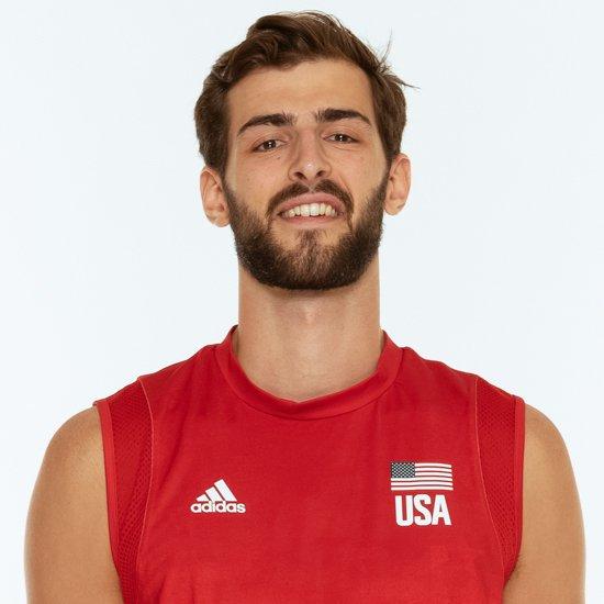 アーロンラッセルバレーボールアメリカUSA代表男子選手