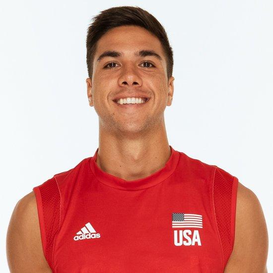 テイラー・サンダー、バレーボールアメリカUSA代表男子選手