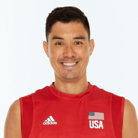 エリック・ショージ、バレーボールアメリカUSA代表男子選手