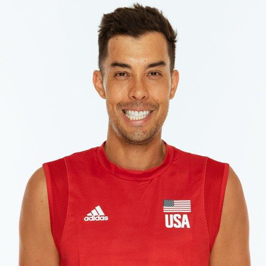 カウィカ・ショージ、バレーボールアメリカUSA代表男子選手
