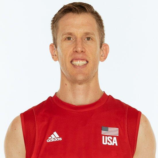 デービッド・スミス、バレーボールアメリカUSA代表男子選手