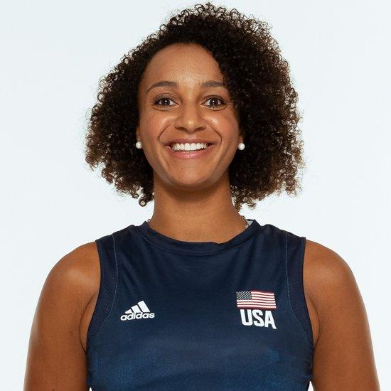 ヘイリー ワシントン、バレーボールアメリカUSA代表女子選手
