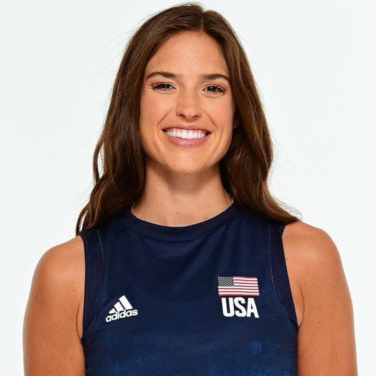 サラ・ウィルハイト、バレーボールアメリカUSA代表女子選手