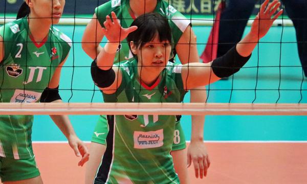 女子バレーボール芥川愛加選手,JTマーヴェラス