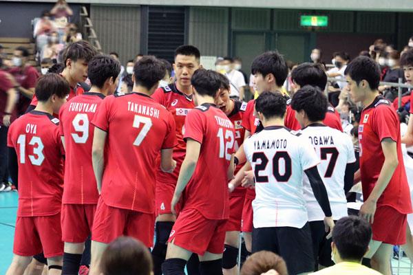 バレーボール男子日本代表 2021