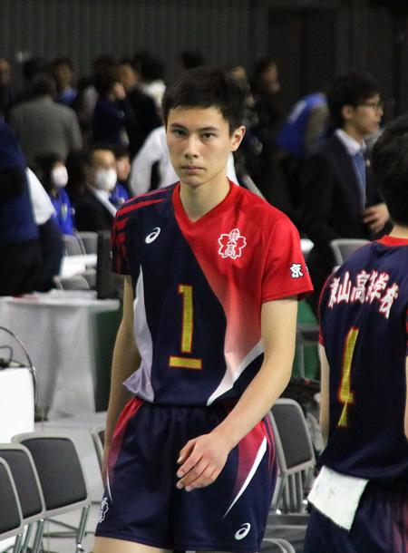 高橋藍,男子バレーボール選手,東山高校時代©スポーツファン.net
