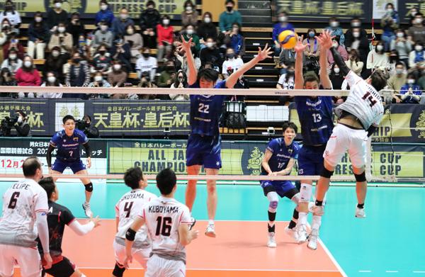 バレーボール西田有志選手,ジェイテクトSTINGS©スポーツファン.net