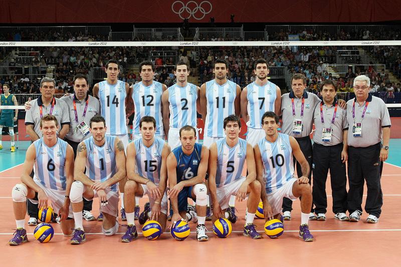 アルゼンチン,2012年ロンドンオリンピック,バレーボール