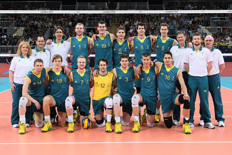 オーストラリア,2012年ロンドンオリンピック,バレーボール