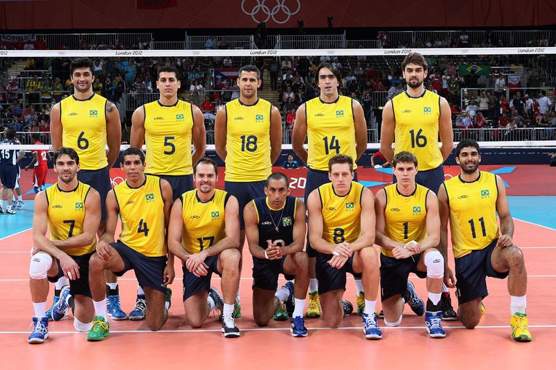 ブラジル,2012年ロンドンオリンピック,バレーボール