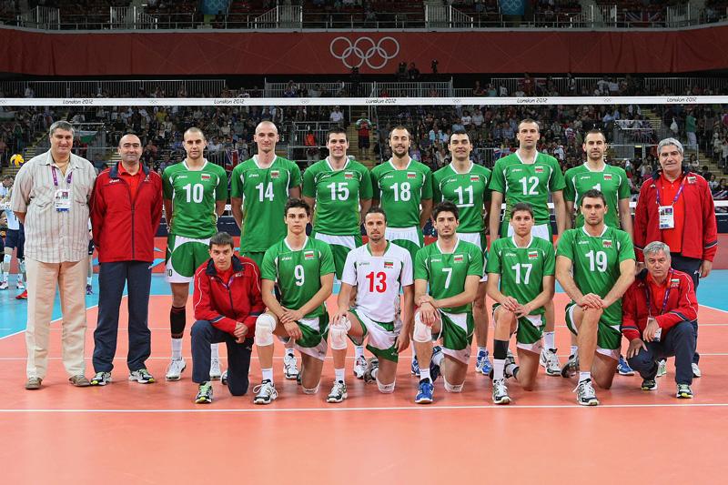 ブルガリア,2012年ロンドンオリンピック,バレーボール