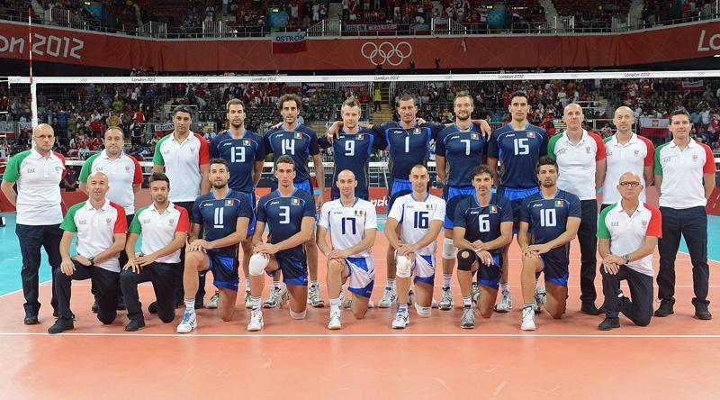 イタリア,2012年ロンドンオリンピック,バレーボール