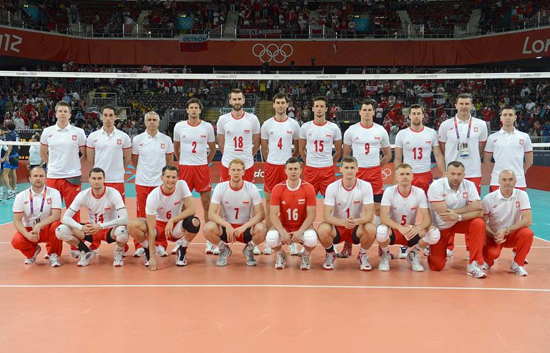 ポーランド,2012年ロンドンオリンピック,バレーボール