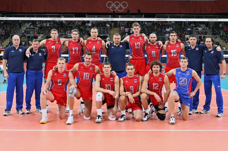 ロシア,2012年ロンドンオリンピック,バレーボール