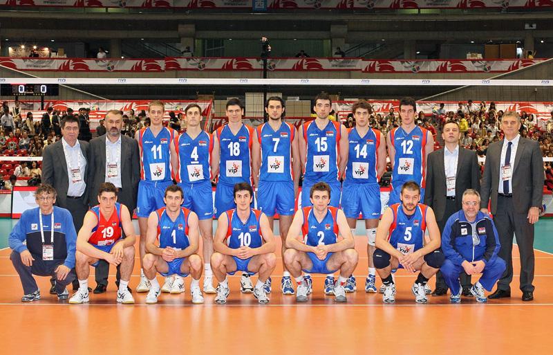 セルビア,2012年ロンドンオリンピック,バレーボール