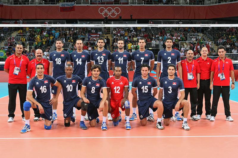 チュニジア,2012年ロンドンオリンピック,バレーボール